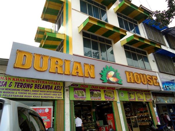 Pan Cake Durian (Nelayan, Durian House)